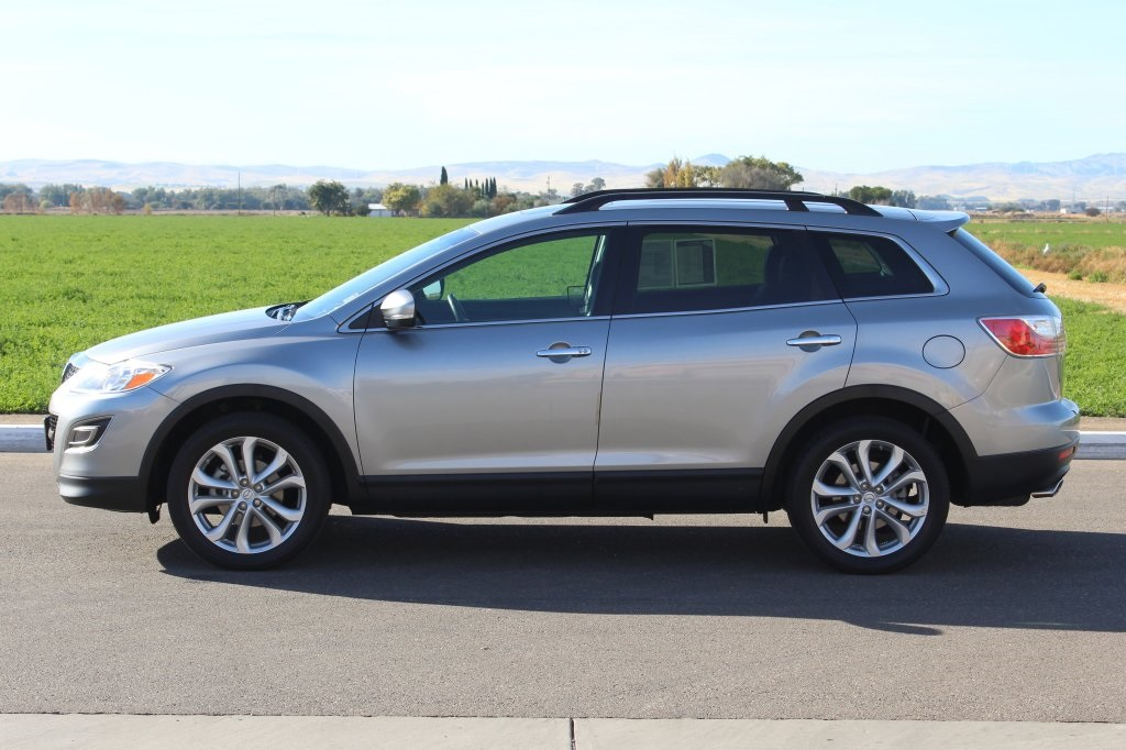 certified pre owned 2012 mazda cx 9 grand touring 4d sport utility near manteca 205645 tracy. Black Bedroom Furniture Sets. Home Design Ideas